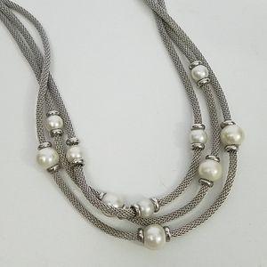 Ann Klein Pearl Necklace